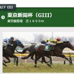 東京新聞杯 2016